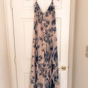 BCBGMAXAZRIA Floral Evening Gown Dress Size 0 NWT